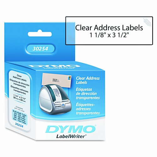 Dymo Corporation Address Labels, 130/Box