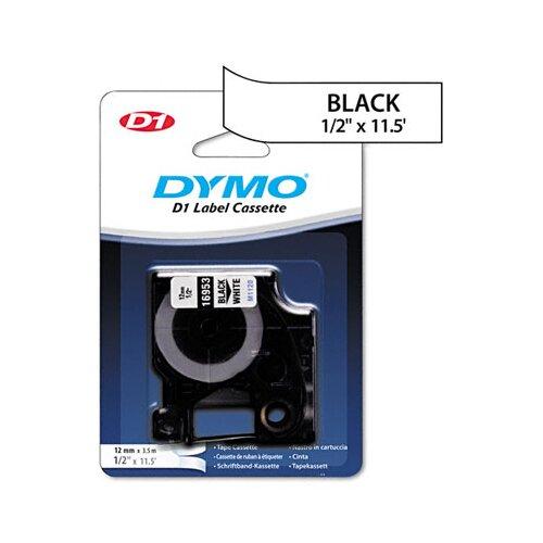 Dymo Corporation 16953 D1 Flexible Nylon Label Maker Tape, 1/2In X 12Ft