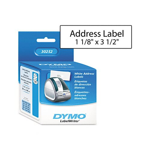 Dymo Corporation 30252 Address Labels, 700/Box