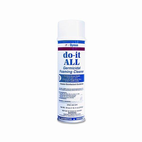 Dymon Do-It-All Germicidal Foaming Cleaner, 18 Oz. Aerosol Can