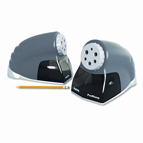 Elmer's Products Inc ProSharp Electric Pencil Sharpener, Silver