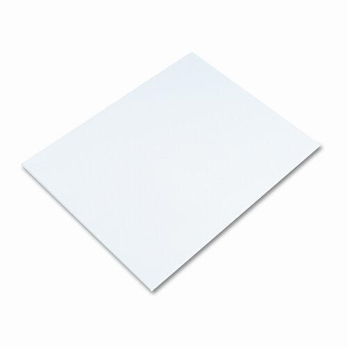 Elmer's Products Inc White Poster Board, 50/Carton