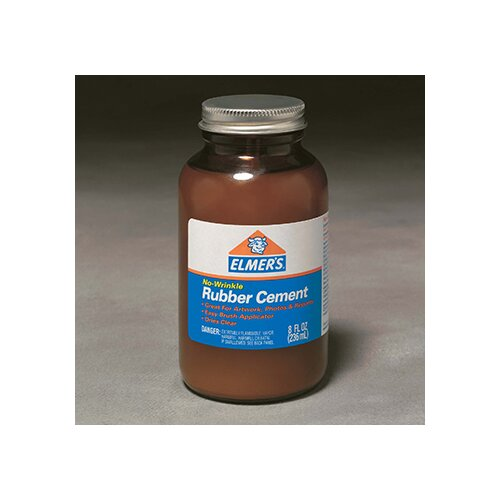 Elmer's Products Inc Rubber Cement W/applc 8oz