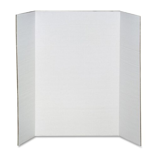 "Elmer's Products Inc Scholar Pro Display Board, 36""x48"", White/Black"