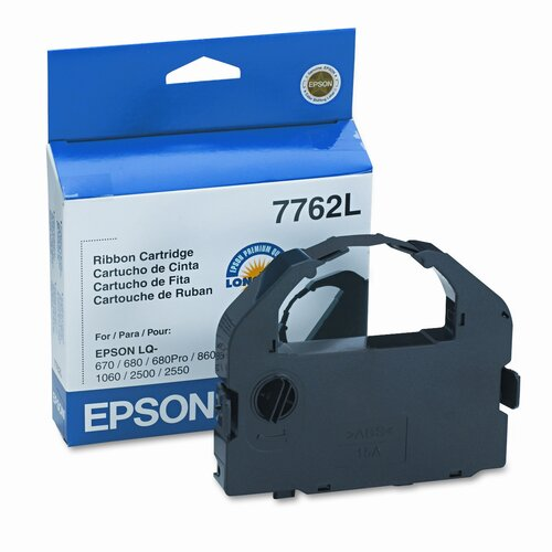 Epson America Inc. 7762L Printer Ribbon, 14 Yield