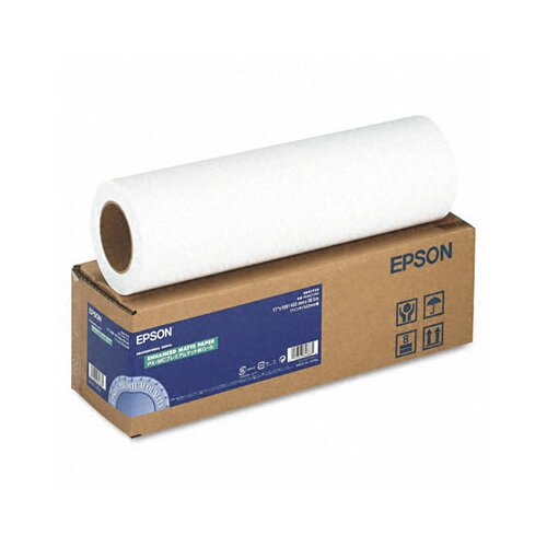 "Epson America Inc. Enhanced Matte Photo Paper, 192 Gal, 17"" x 100'"