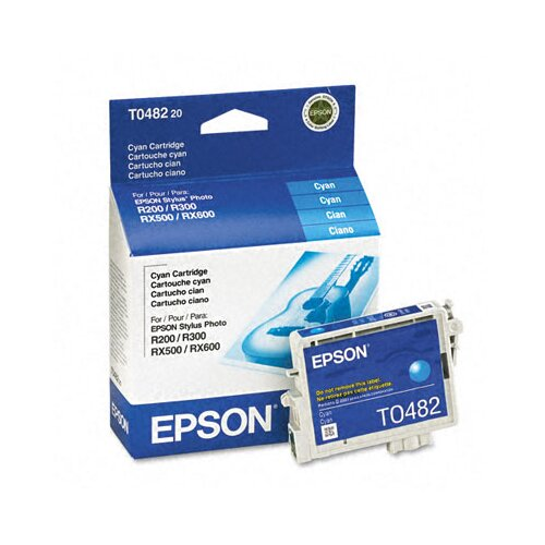 Epson America Inc. T048220 Quick-Dry Ink, 430 Page-Yield