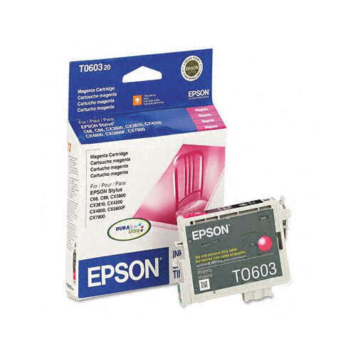 Epson America Inc. T060320 Durabrite Ink, 450 Page-Yield