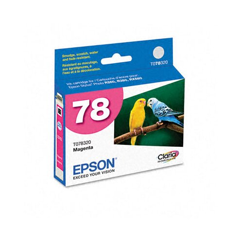 Epson America Inc. T078320 Claria Ink, 430 Page-Yield