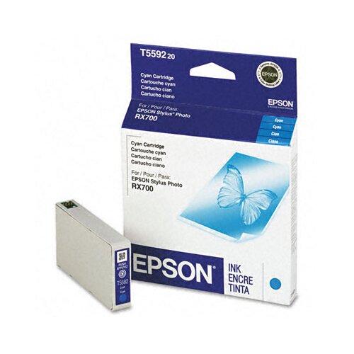 Epson America Inc. T559220 Inkjet Cartridge, Cyan