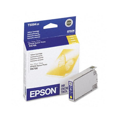 Epson America Inc. T559420 Inkjet Cartridge, Yellow