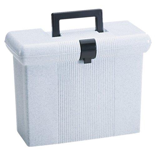 Esselte Pendaflex Corporation Portafile File Storage Box, Letter, Plastic, 14-7/8 X 6-1/2 X 11-7/8