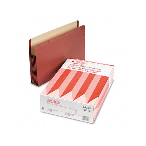 "Esselte Pendaflex Corporation Watershed Seven"" Expansion File Pocket, Straight Cut, Legal, 5/Box"