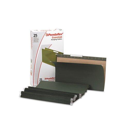 Esselte Pendaflex Corporation Essentials Hanging File Folders, 1/3 Tab, Legal, 25/Box