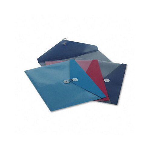Esselte Pendaflex Corporation Viewfront Standard Pocket Poly Booklet Envelope, 4/Pack