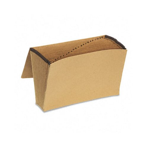 Esselte Pendaflex Corporation Essentials Essentials A-Z Expanding File, 21 Pockets, Kraft, Legal