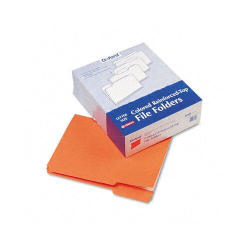 Esselte Pendaflex Corporation Two-Ply Reinforced File Folders, 1/3 Cut Top Tab, Letter, 100/Box