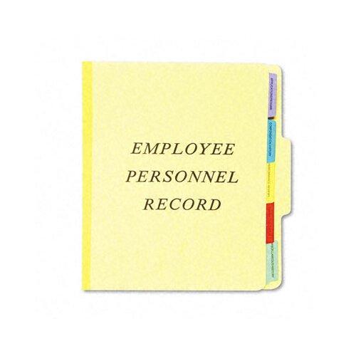 Esselte Pendaflex Corporation Vertical Personnel Folders, 1/3 Cut Top Tab, Letter
