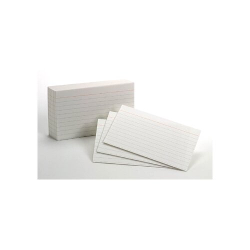 Esselte Pendaflex Corporation White Commercial Index 1000 Ct 3x5