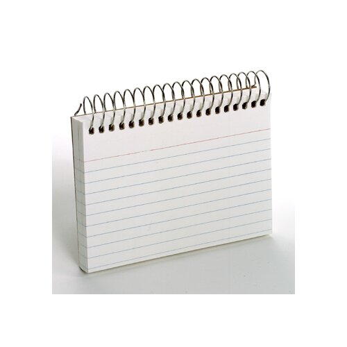 Esselte Pendaflex Corporation Oxford Spiral Index Cards 3x5 White