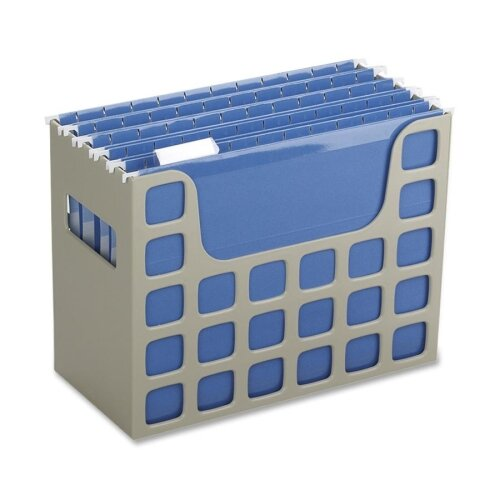 "Esselte Pendaflex Corporation Hanging File Bin, 12-3/16""x6""x9-1/2"", Putty"