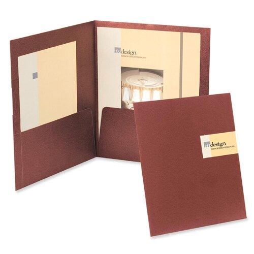 Esselte Pendaflex Corporation Oxford Yourstyle Custom Card Folio Presentation Folder, Letter Size, 4/Pack