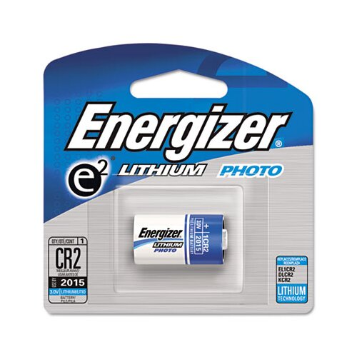 Energizer® e² Lithium Photo Battery, CR2, 3V