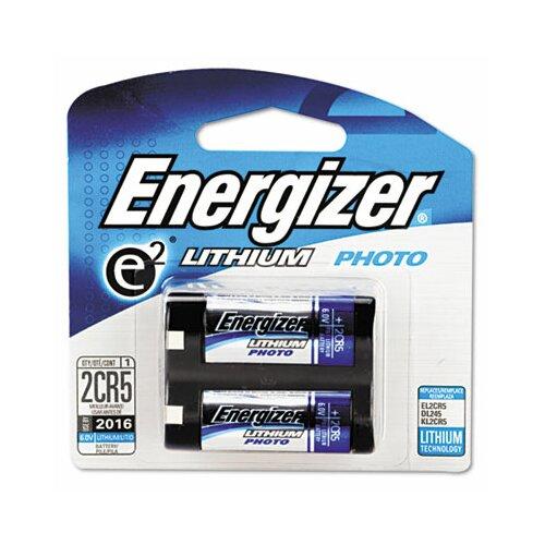 Energizer® e² Lithium Photo Battery, 2CR5, 6V