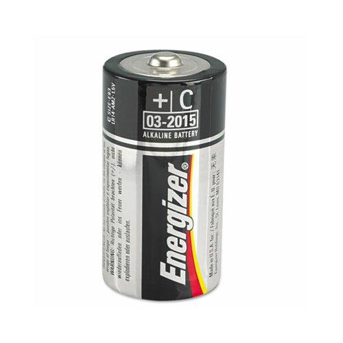 Energizer® Max Alkaline Batteries, C, 2 Batteries/Pack