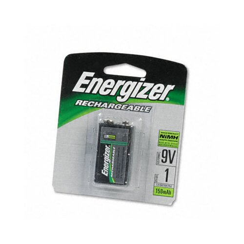 Energizer® E2 Nimh Rechargeable Battery, 9V