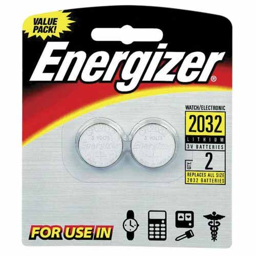 Energizer® Lithium Batteries, 3.0 Volt, For CR2032/DL2032/LF1/2V