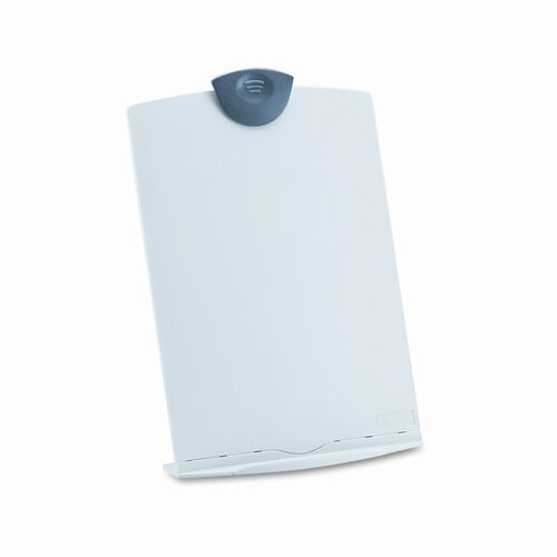 Fellowes Mfg. Co. Freestanding Desktop Copy Stand/Clipboard, Plastic, 75 Sheet Capacity