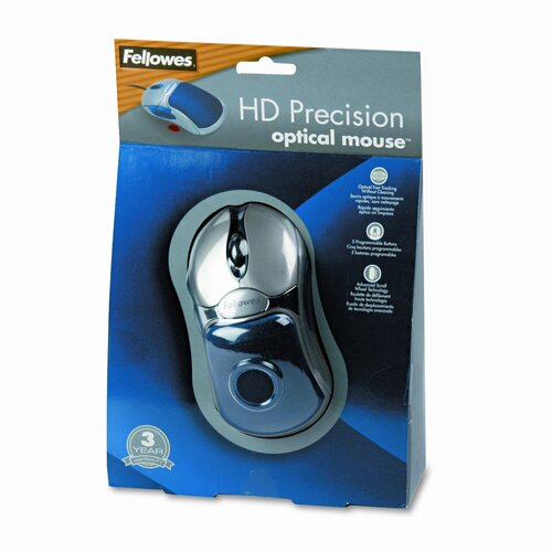 Fellowes Mfg. Co. HD Precision Corded Optical Mouse