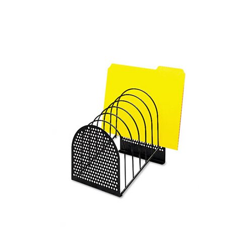 Fellowes Mfg. Co. Perf-Ect Step File, Seven Sections, Metal/Wire