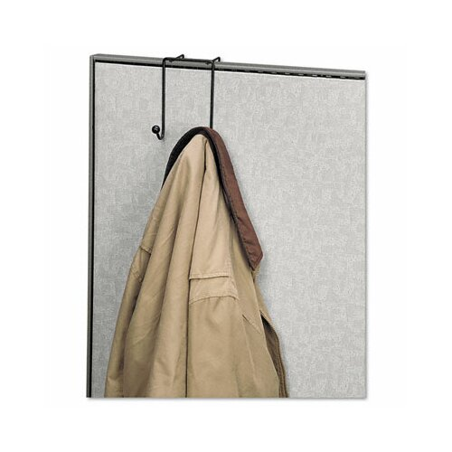 Fellowes Mfg. Co. Partition Additions Wire Double-Garment Hook