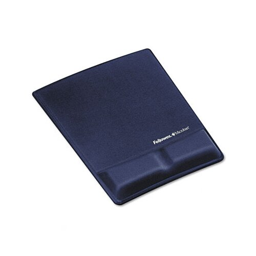 Fellowes Mfg. Co. Fellowes® Memory Foam Wrist Support  With Attached Mouse Pads & Wrist Rests