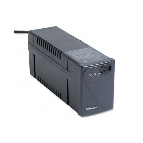 Fellowes Mfg. Co. Line Interactive with Avr Ups Battery Backup System, Four-Outlet 500 Volt-Amps