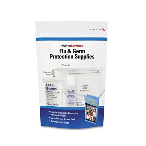First Aid Only™ Flu-Germ Protection Kit (5 Pieces)