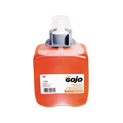 GOJO Industries Fmx-12 Foam Hand Wash, Orange Blossom, Fmx-12 Dispenser, 1250Ml Pump