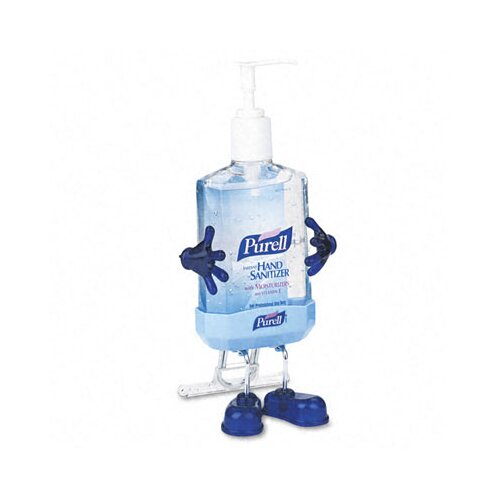 GOJO Industries Purell Pal Instant Hand Sanitizer Desktop Dispenser with 8-fl. oz. Pump Bottle