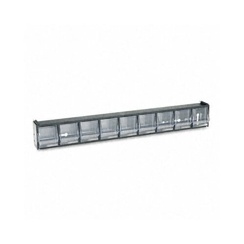Deflect-O Corporation Tilt Bin Plastic Storage System with 9 Bins