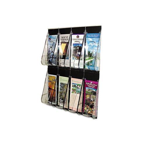 Deflect-O Corporation 8 Pocket Wall-Mount System