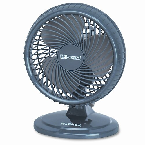 """Holmes® Holmes® 8"""" Lil' Blizzard Oscillating Personal Table Fan"""