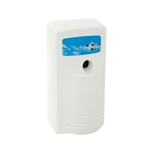 Hospital Specialty Stratus II Metered Aerosol Dispenser with LED Panel in White