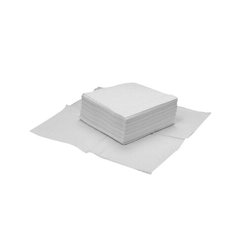 Hospital Specialty Toughworks Four-Ply Nylon Scrim Wipers in White