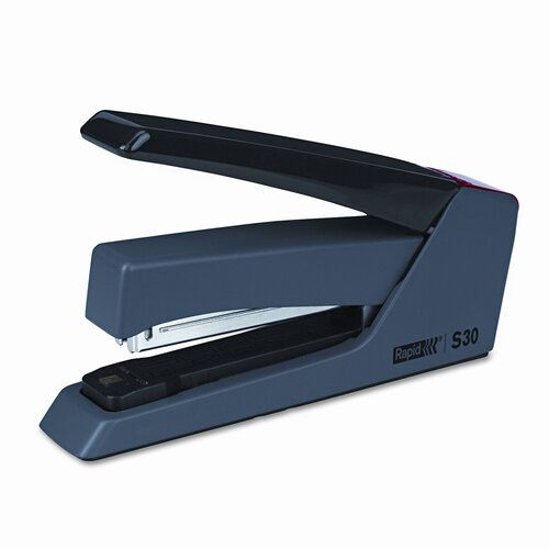 HUNT MFG.                                          Rapid Press Less Superflatclinch Stapler, 30-Sheet Capacity
