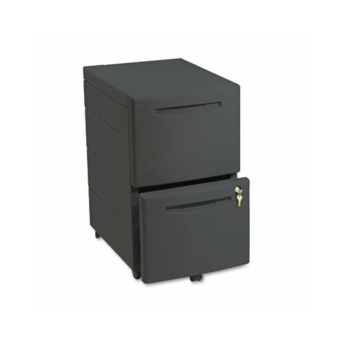 Iceberg Enterprises Iceberg Aspira 2-Drawer Mobile Underdesk Pedestal File