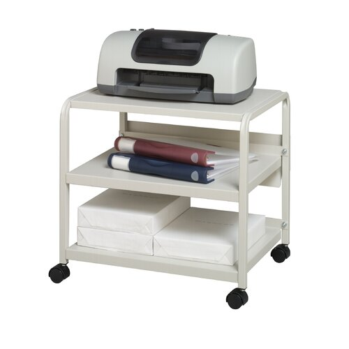 Iceberg Enterprises Mobile Printer Stand with Casters
