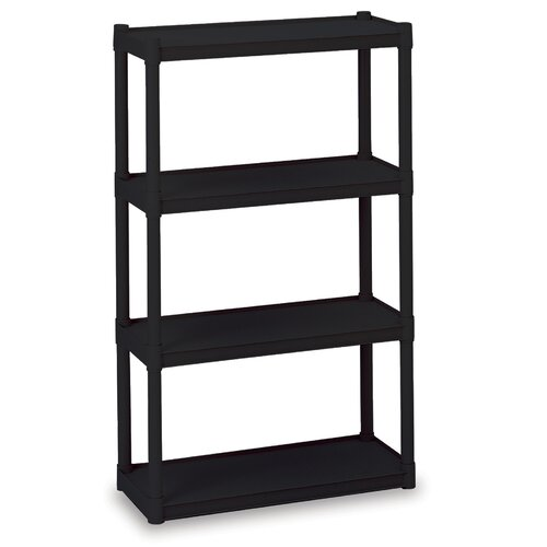 "Iceberg Enterprises Rough N Ready Open 54"" H 4 Shelf Shelving Unit Starter"