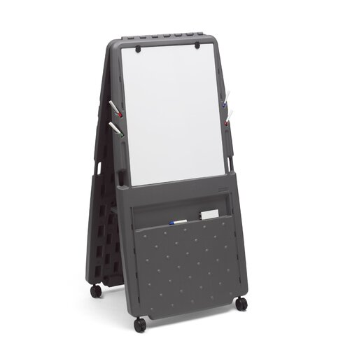 Iceberg Enterprises Presentation Flipchart Easel with Dry Erase Surface
